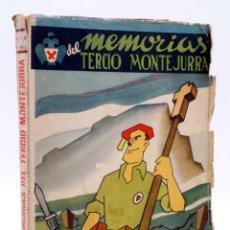 Militaria: MEMORIAS DEL TERCIO MONTEJURRA (POLICARPO CÍA NAVASCUES) LA ACCIÓN SOCIAL, 1941. CARLISMO. Lote 161807393