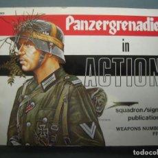 Militaria: PANZERGRENADIERS IN ACTION SQUADRON SIGNAL. Lote 161885714