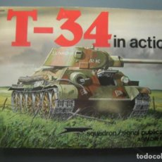 Militaria: T 34 IN ACTION SQUADRON SIGNAL. Lote 161890354