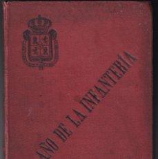 Militaria: ANTONIO GIL ÁLVARO: EL AÑO DE LA INFANTERÍA. 1901. . Lote 163017786