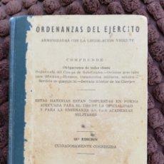 Militaria: ORDENANZAS DEL EJÉRCITO. 1969.. Lote 163542973