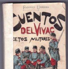 Militaria: CUENTOS DEL VIVAC. BOCETOS MILITARES. FEDERICO URRECHEA 1892. Lote 163995234