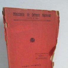 Militaria: REGLAMENTO TACTICO DE INFANTERIA. MINISTERIO DE DEFENSA NACIONAL.193. Lote 164571466