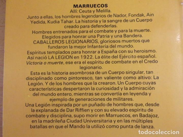 Militaria: HISTORIA DE LA LEGIÓN ESPAÑOLA / Carlos de Arce / 1984. editorial mitre - Foto 3 - 165087082