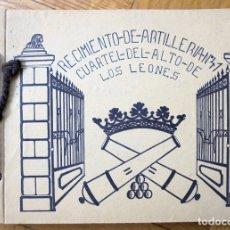 Militaria: REGIMIENTO DE ARTILLERÍA Nº 41 CUARTEL DEL ALTO DE LOS LEONES. Lote 165353730