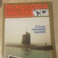 Militaria: REVISTA TECNOLOGIA MILITAR, AÑO 1987 /N 9.. Lote 165413298