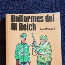 Militaria: LIBRO UNIFORMES DEL III REICH EDITORIAL SM. Lote 165718888