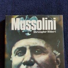 Militaria: LIBRO MUSSOLINI EDITORIAL SM. Lote 165722022
