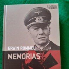 Militaria: ERWIN ROMMEL. MEMORIAS. Lote 194729903