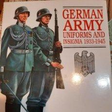 Militaria: BRIAN DAVIS. EJÉRCITO ALEMÁN. UNIFORMES E INSIGNIAS. EN INGLES. Lote 194729410