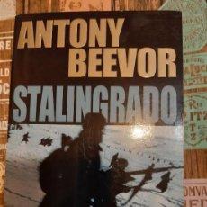 Militaria: ANTHONY BEEVOR. STALINGRADO. Lote 165902338