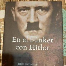Militaria: VON LORINGHOVEN. EN EL BUNKER CON HITLER. Lote 194729930