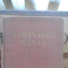 Militaria: ALMANAQUE NAVAL. 1941. XIX. Lote 163771506