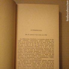 Militaria: EL DÍA MÁS LARGO. CORNELIUS RYAN. PLAZA Y JANES GP 1967. 1 EDICIÓN. Lote 166668921