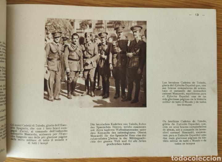Militaria: GUERRA CIVIL ESPAÑOLA - ALCAZAR DE TOLEDO 1936 - EL MILAGRO DE TOLEDO - PROPAGANDA NACIONAL - CORUÑA - Foto 2 - 166678466