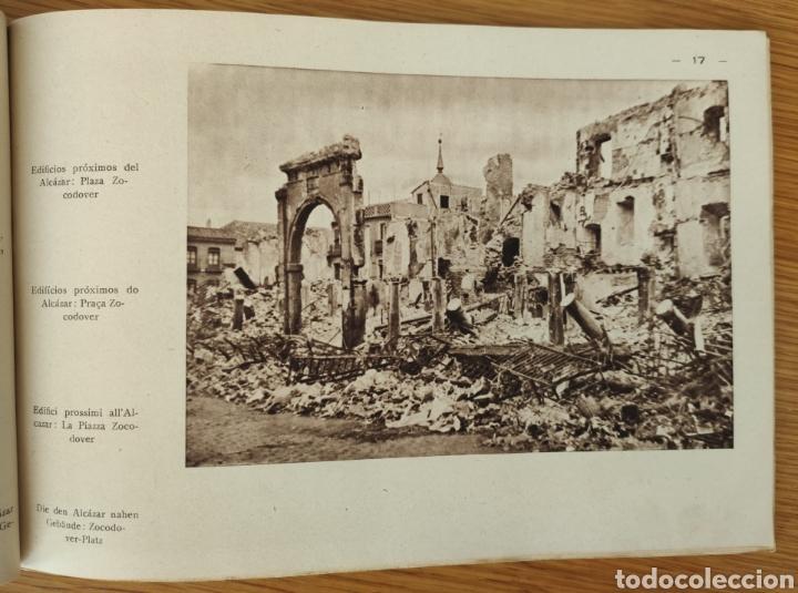 Militaria: GUERRA CIVIL ESPAÑOLA - ALCAZAR DE TOLEDO 1936 - EL MILAGRO DE TOLEDO - PROPAGANDA NACIONAL - CORUÑA - Foto 4 - 166678466