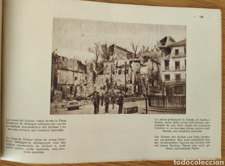 Militaria: GUERRA CIVIL ESPAÑOLA - ALCAZAR DE TOLEDO 1936 - EL MILAGRO DE TOLEDO - PROPAGANDA NACIONAL - CORUÑA - Foto 5 - 166678466