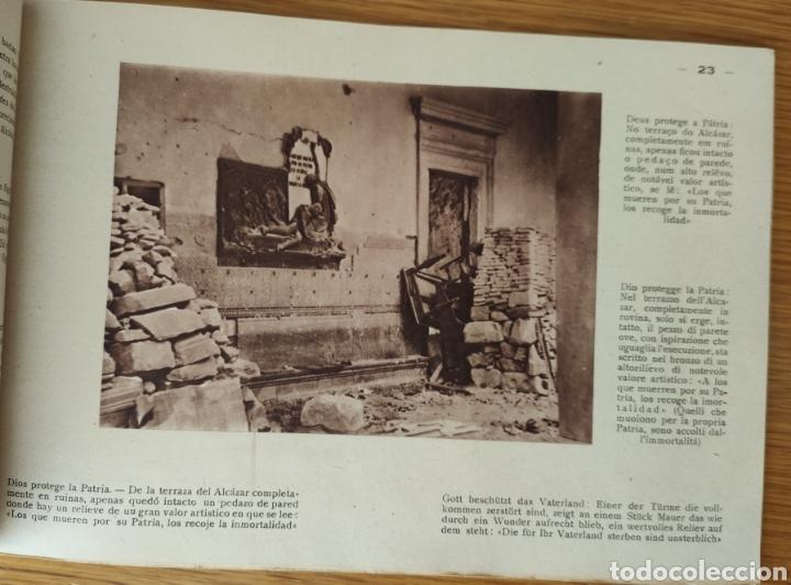 Militaria: GUERRA CIVIL ESPAÑOLA - ALCAZAR DE TOLEDO 1936 - EL MILAGRO DE TOLEDO - PROPAGANDA NACIONAL - CORUÑA - Foto 7 - 166678466
