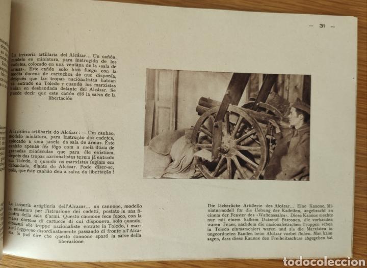 Militaria: GUERRA CIVIL ESPAÑOLA - ALCAZAR DE TOLEDO 1936 - EL MILAGRO DE TOLEDO - PROPAGANDA NACIONAL - CORUÑA - Foto 9 - 166678466