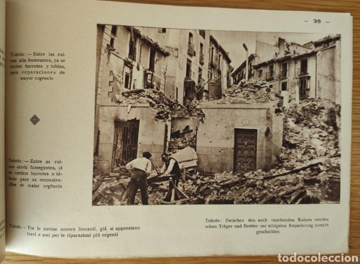 Militaria: GUERRA CIVIL ESPAÑOLA - ALCAZAR DE TOLEDO 1936 - EL MILAGRO DE TOLEDO - PROPAGANDA NACIONAL - CORUÑA - Foto 10 - 166678466