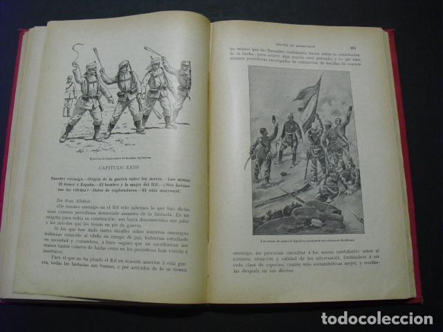 Militaria: 1910 ESPAÑA EN MARRUECOS CRONICA DE LA CAMPAÑA DE 1909 AUGUSTO RIERA - Foto 5 - 166992668