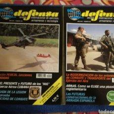 Militaria: LOTE DE 2 NUMEROS EXTRA DE LA REVISTA MILITAR DEFENSA.. Lote 168310366