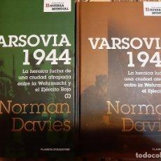 Militaria: NORMAN DAVIES. VARSOVIA 1944. Lote 178909800