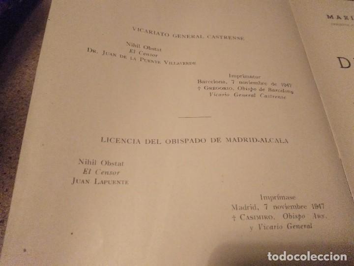 Militaria: DEONTOLOGIA MILITAR POR EL TENIENTE CORONEL CAPELLAN D. MARIANO VEGA MESTRE EDICONES ARES 1947 - Foto 2 - 168386632