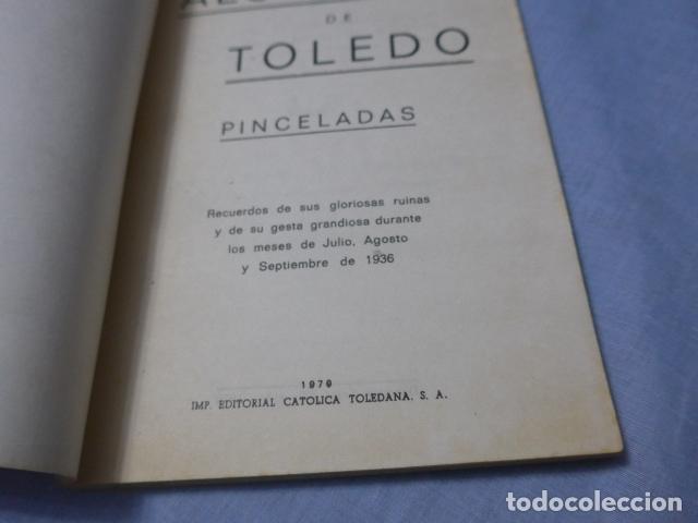 Militaria: * Antiguo libro de el alcazar de Toledo, guerra civil. ZX - Foto 3 - 168629740