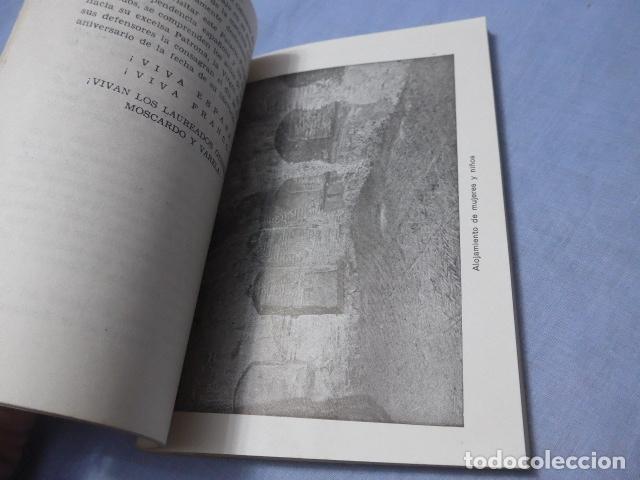 Militaria: * Antiguo libro de el alcazar de Toledo, guerra civil. ZX - Foto 5 - 168629740