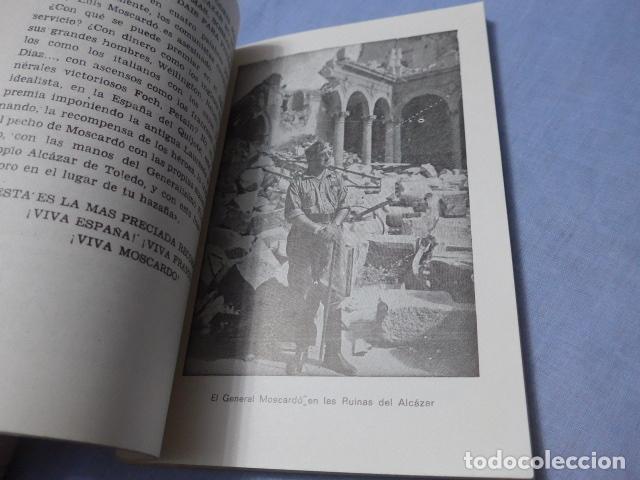 Militaria: * Antiguo libro de el alcazar de Toledo, guerra civil. ZX - Foto 7 - 168629740