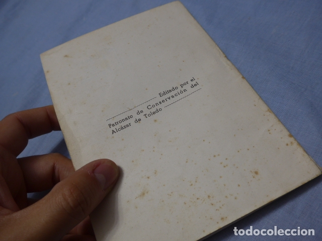 Militaria: * Antiguo libro de el alcazar de Toledo, guerra civil. ZX - Foto 8 - 168629740