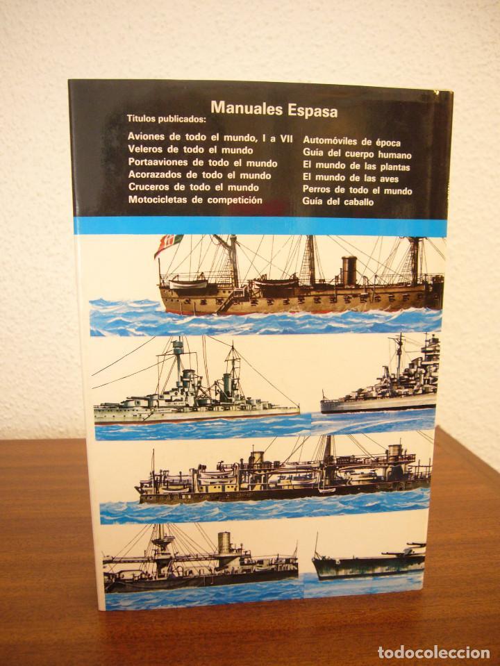 Militaria: GINO GALUPPINI: ACORAZADOS/ CRUCEROS/ PORTAAVIONES DE TODO EL MUNDO (ESPASA-CALPE) PERFECTOS - Foto 5 - 169031744