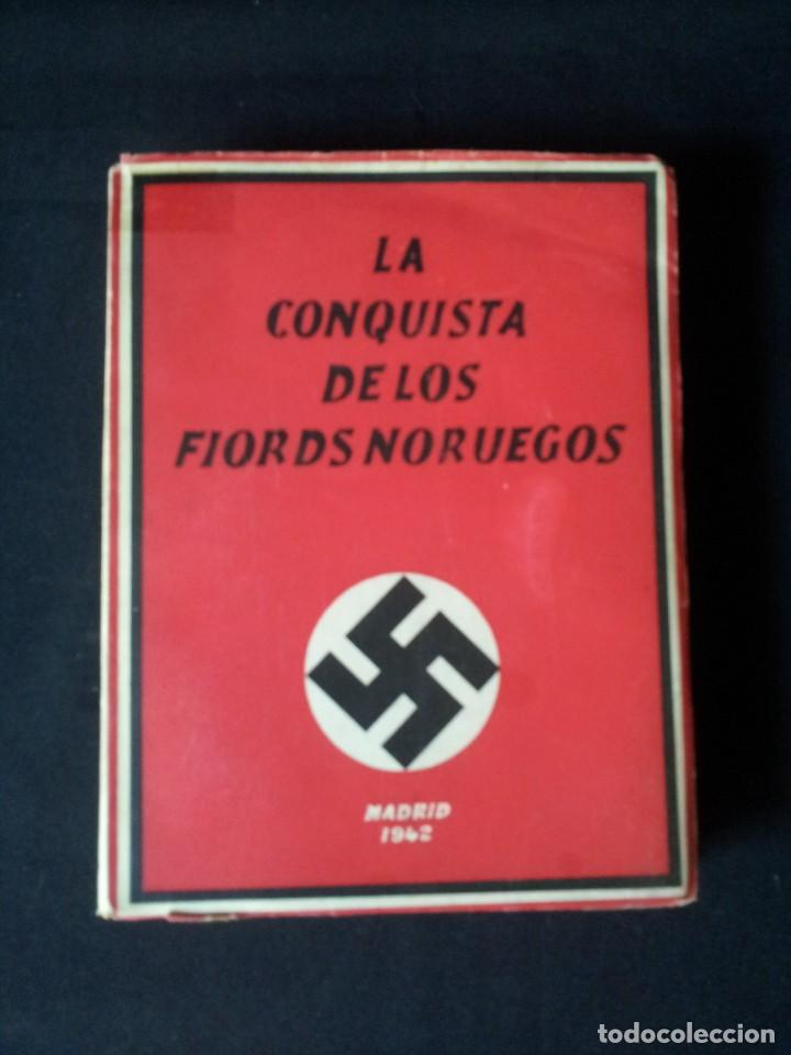 Militaria: GEORG VON HASE - LA CONQUISTA DE LOS FIORDS NORUEGOS - MATASELLO DE AGUILA, ADOLF HITLER III REICH - Foto 3 - 169227876
