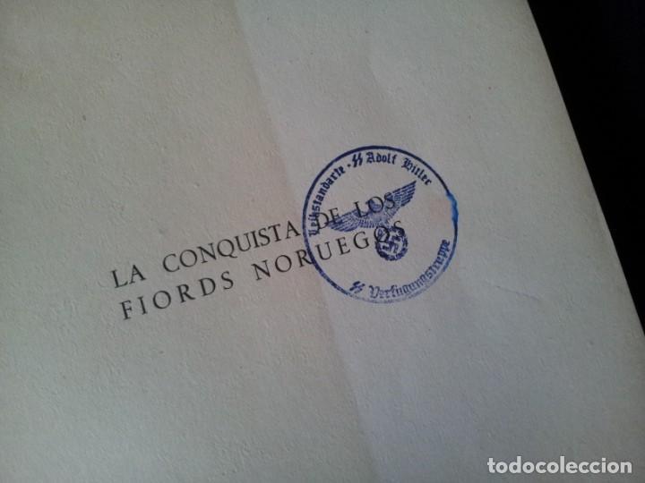 Militaria: GEORG VON HASE - LA CONQUISTA DE LOS FIORDS NORUEGOS - MATASELLO DE AGUILA, ADOLF HITLER III REICH - Foto 4 - 169227876