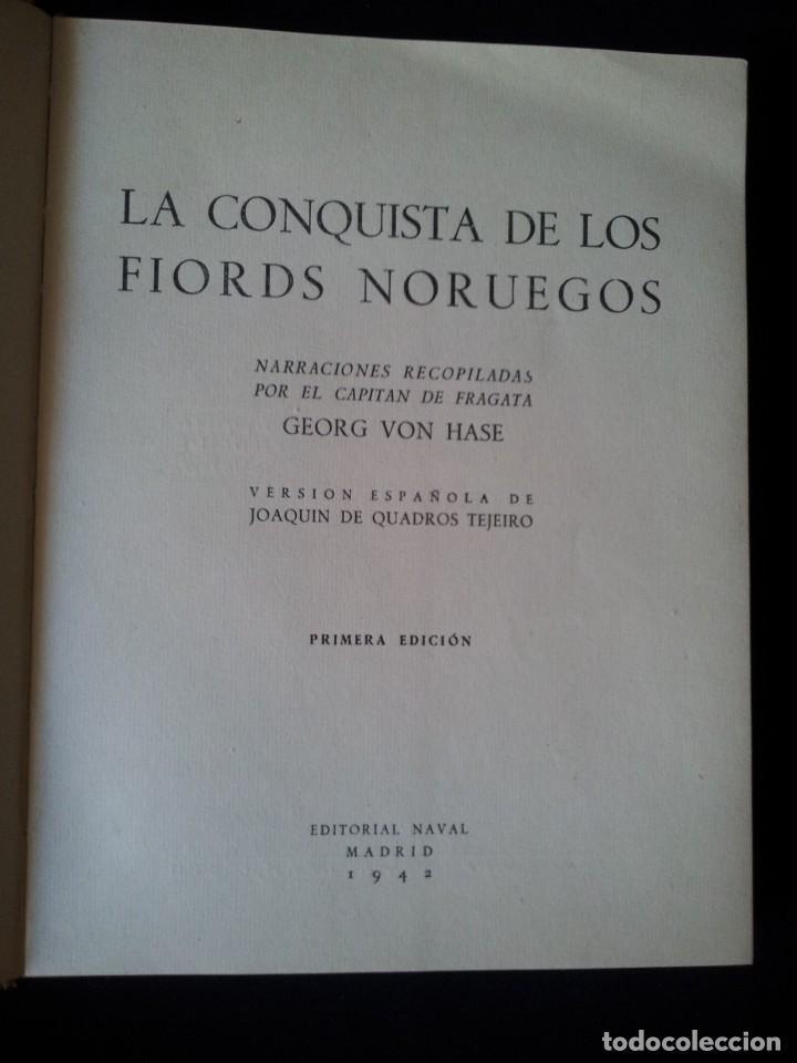 Militaria: GEORG VON HASE - LA CONQUISTA DE LOS FIORDS NORUEGOS - MATASELLO DE AGUILA, ADOLF HITLER III REICH - Foto 5 - 169227876