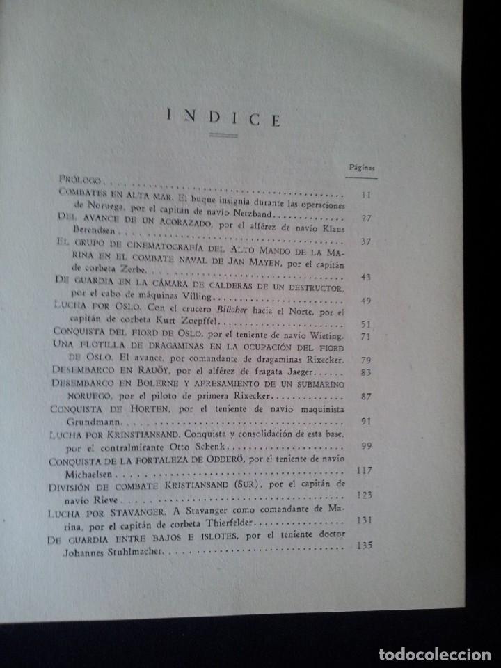 Militaria: GEORG VON HASE - LA CONQUISTA DE LOS FIORDS NORUEGOS - MATASELLO DE AGUILA, ADOLF HITLER III REICH - Foto 7 - 169227876