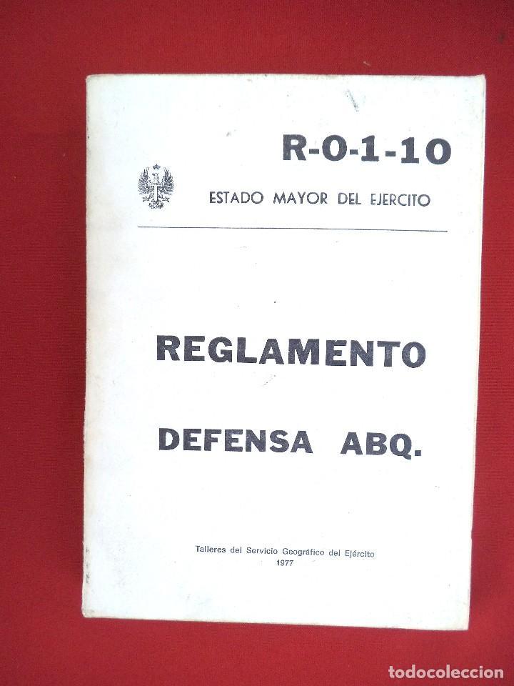 REGLAMENTO DEFENSA ABQ (Militar - Libros y Literatura Militar)