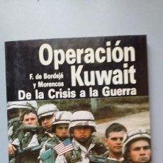 Militaria: OPERACION KUWAIT. ED SAN MARTIN. Lote 169894280