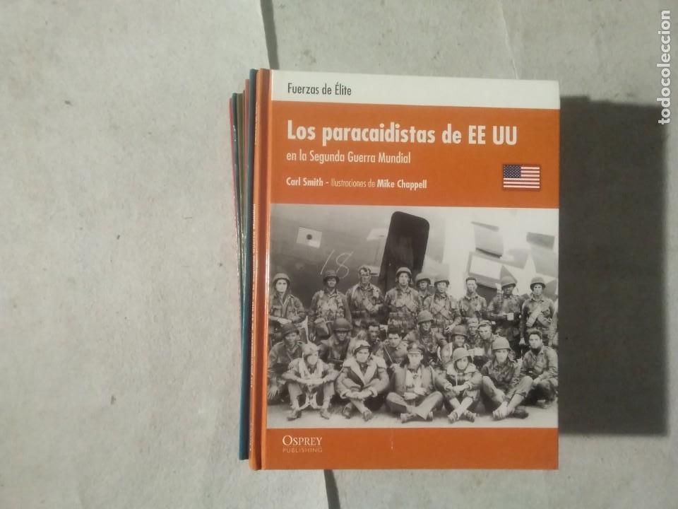 LOS PARACAIDISTAS DE EEUU EN LA SEGUNDA GUERRA MUNDIAL - CARL SMITH - ILUSTRACIONES DE MIKE CHAPPELL (Militar - Libros y Literatura Militar)
