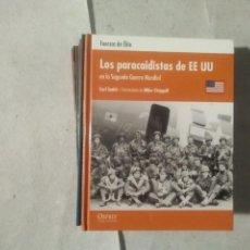 Militaria: LOS PARACAIDISTAS DE EEUU EN LA SEGUNDA GUERRA MUNDIAL - CARL SMITH - ILUSTRACIONES DE MIKE CHAPPELL. Lote 170229712