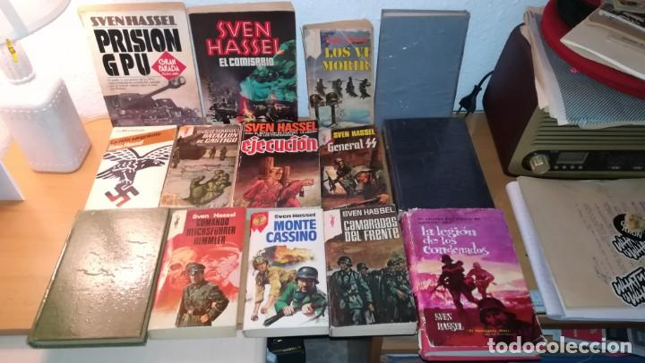 LOTE DE 14 LIBROS COLECCION DEL AUTOR SVEN HASSEL (Militar - Libros y Literatura Militar)