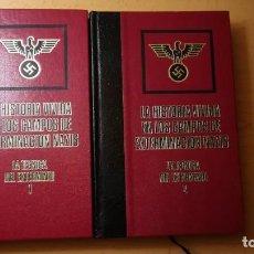 Militaria: LOTE 2 LIBROS LA HISTORIA VIVIDA EN LOS CAMPOS DE EXTERMINACION NAZIS.AÑO 1976. Lote 170435224
