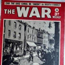 Militaria: REVISTA THE WAR. NÚMERO 44. AGOSTO DE 1940. Lote 170746260
