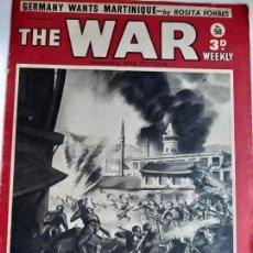 Militaria: REVISTA THE WAR. NÚMERO 58. NOVIEMBRE DE 1940. Lote 170748035