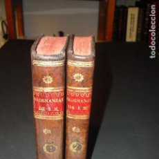 Militaria: 1815 ORDENANZAS DE S.M. PARA EL REGIMEN, DISCIPLINA..... EJERCITOS 2 TOMOS OBRA COMPLETA IMP. REAL. Lote 171123057