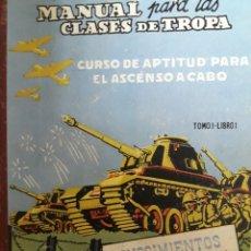 Militaria: CURSO DE APTITUD PARA EL ASCENSO A CABO. Lote 171186203