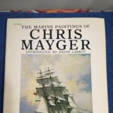 Militaria: LIBRO DE ILUSTRACIONES MARINAS DE CHRIS MAYGER.SEGUNDA GUERRA MUNDIAL. Lote 171206920