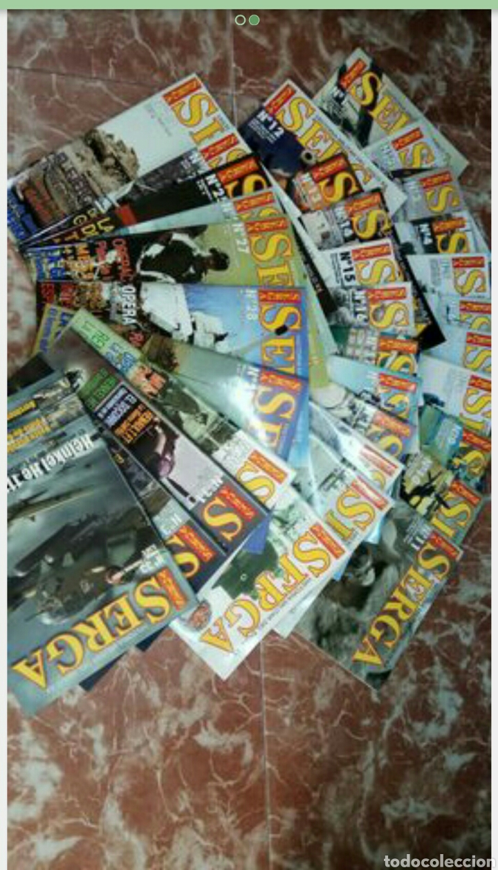 Militaria: Coleccion de revistas serga historia militar - Foto 2 - 171243045