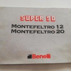 Militaria: MANUAL BENELLI MONTEFELTRO 12 - 20. Lote 171473972